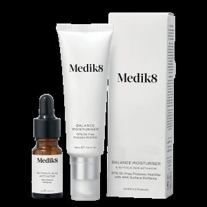 Balance Moisturiser en serum Medik8